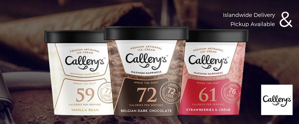 Callery's Reduced-Calorie Ice Cream