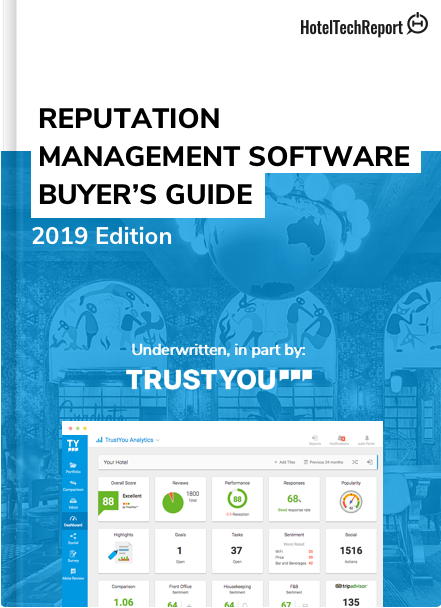 The 2019 Hotelier's Guide to Reputation Management Software