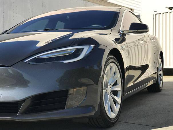 Autoskinz Tesla Model S Ceramic Pro Gold Package