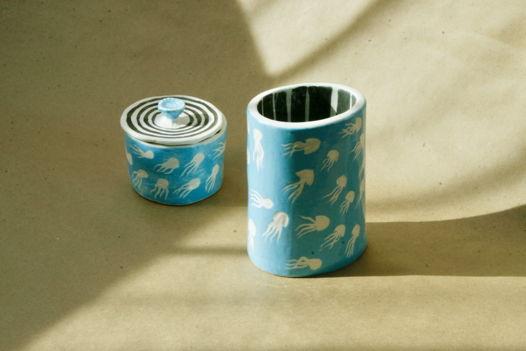 Голубая ваза Медузы