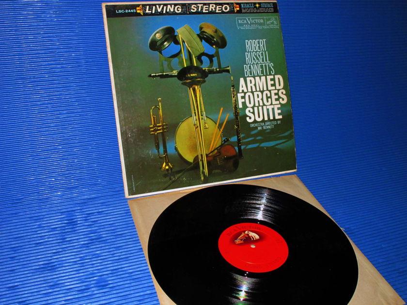 "BENNETT/Bennett - - ""Armed Forces Suite"" - RCA 'Shaded Dog' 1960 Promo 1st pressing"