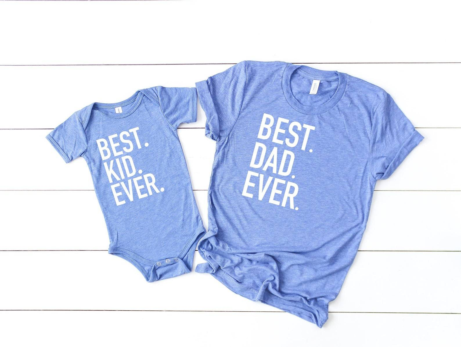 Best Dad Best Kid Shirts