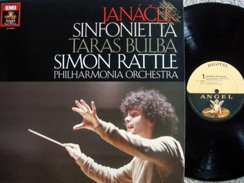 EMI Angel Digital / RATTLE,  - Janacek Sinfonietta, Taras Bulba, MINT, Promo Copy!