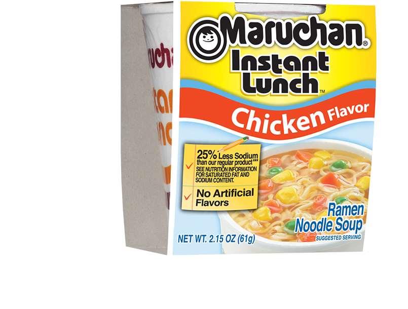 25% Less Sodium Chicken Flavor
