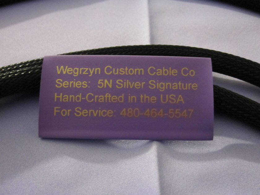 Wegrzyn's 1 x 15.0 meters HDMI Cable [or 49 feet, 2 inches long USA] - WORLD'S BEST HDMI CABLES  5N [or 99.999] 'PURE SILVER CONDUCTORS' 50 percent off - FACTORY DIRECT ONLY - limited time offer - MUST ACT NOW.