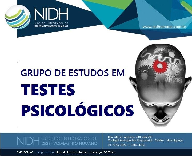 Grupo de estudos em Testes Psicológicos
