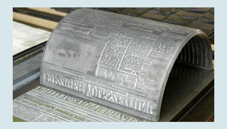 stiftung werkstattmuseum für druckkunst leipzig stanz stempel rund