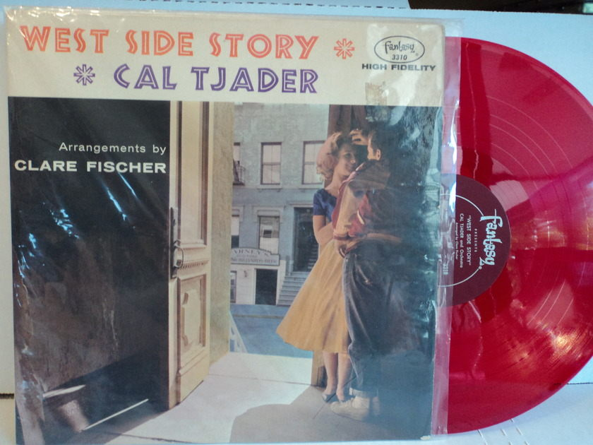 Cal Tjader  **Red Vinyl** - West Side Story  Rare Mono NM