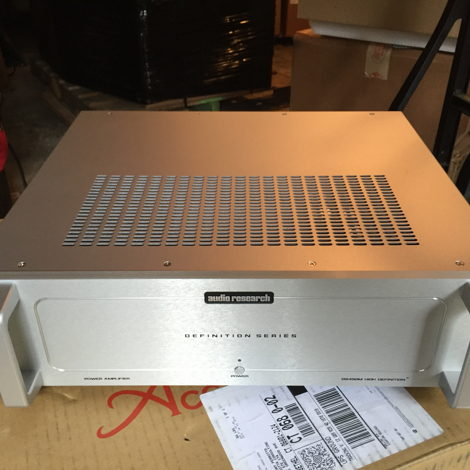 Audio Research DS450M mono amps