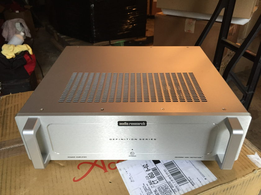 Audio Research DS450M mono amps Mint customer trade-in