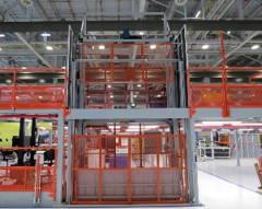 PFlow Vertical Reciprocating Conveyor Grey