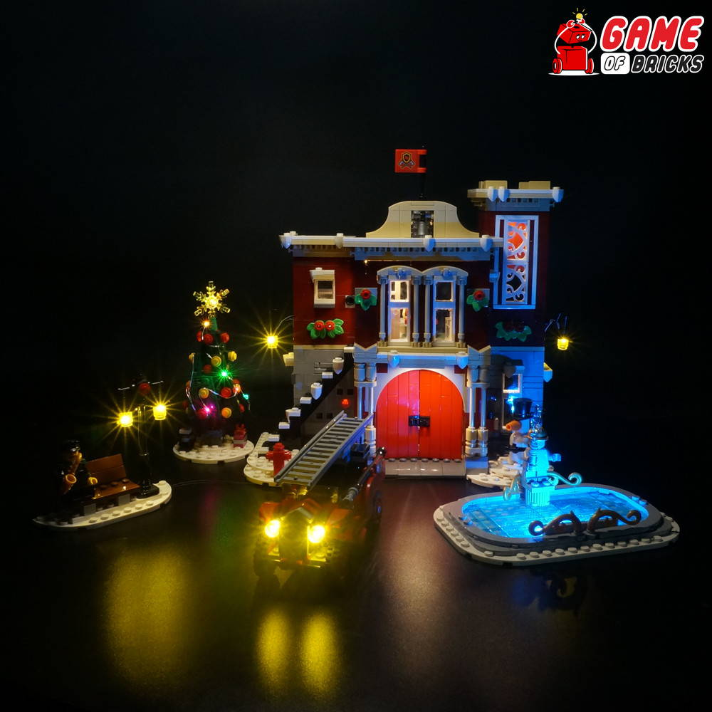 lego led light for fire station