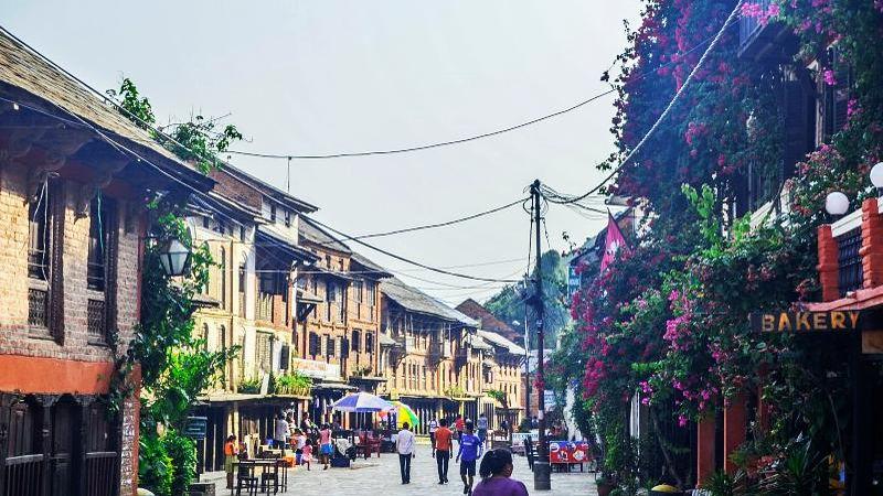 Bandipur Street Scene, Nepal