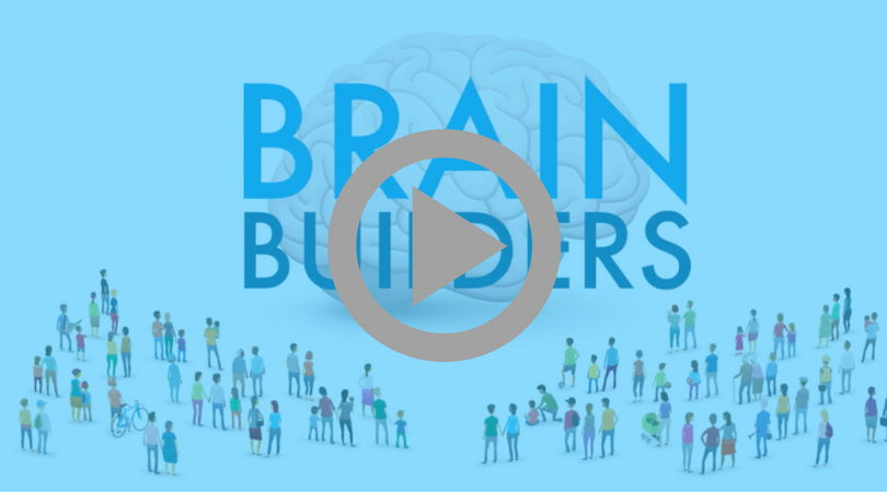 brain builders - video with play button - links to another webpage with the video