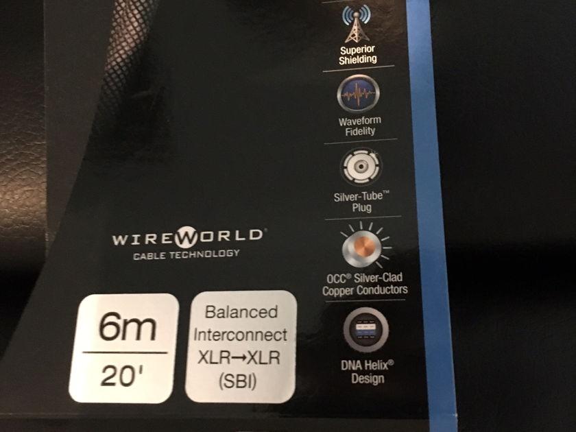 Wireworld Silver Eclipse 7 Interconnect Balanced XLR 6 Meter Pair