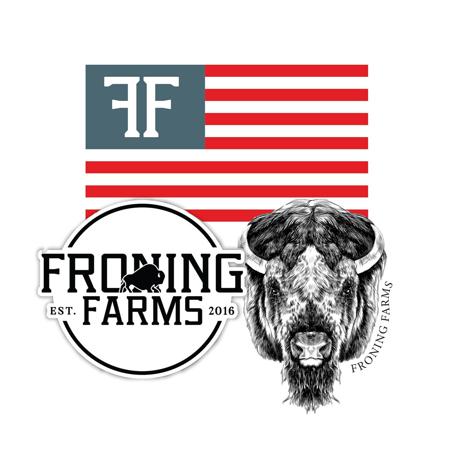 Froning farms decal pack