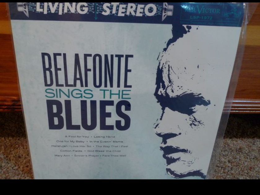Harry Belafonte - Sings The Blues Classic Records original reissue 180G 1990's Sealed
