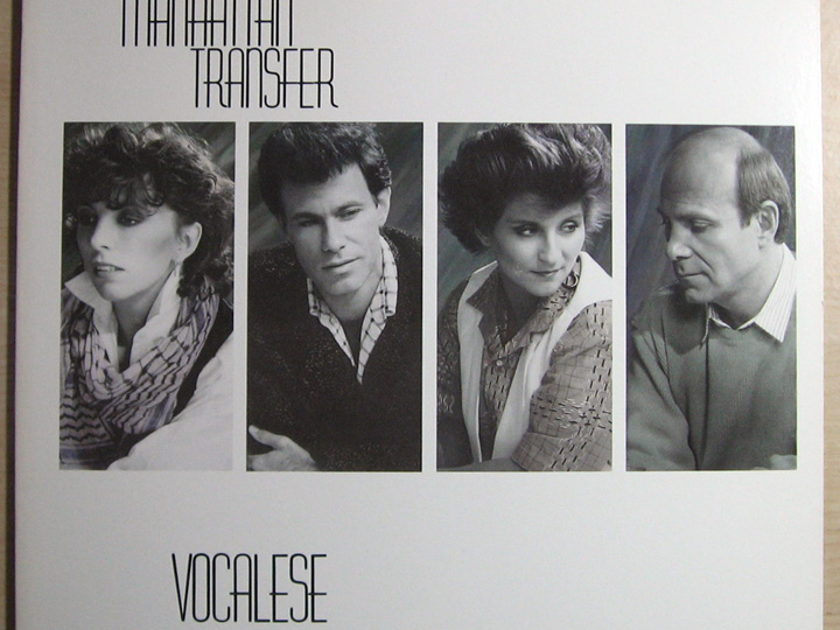 The Manhattan Transfer - Vocalese - 1985 Atlantic 81266-1
