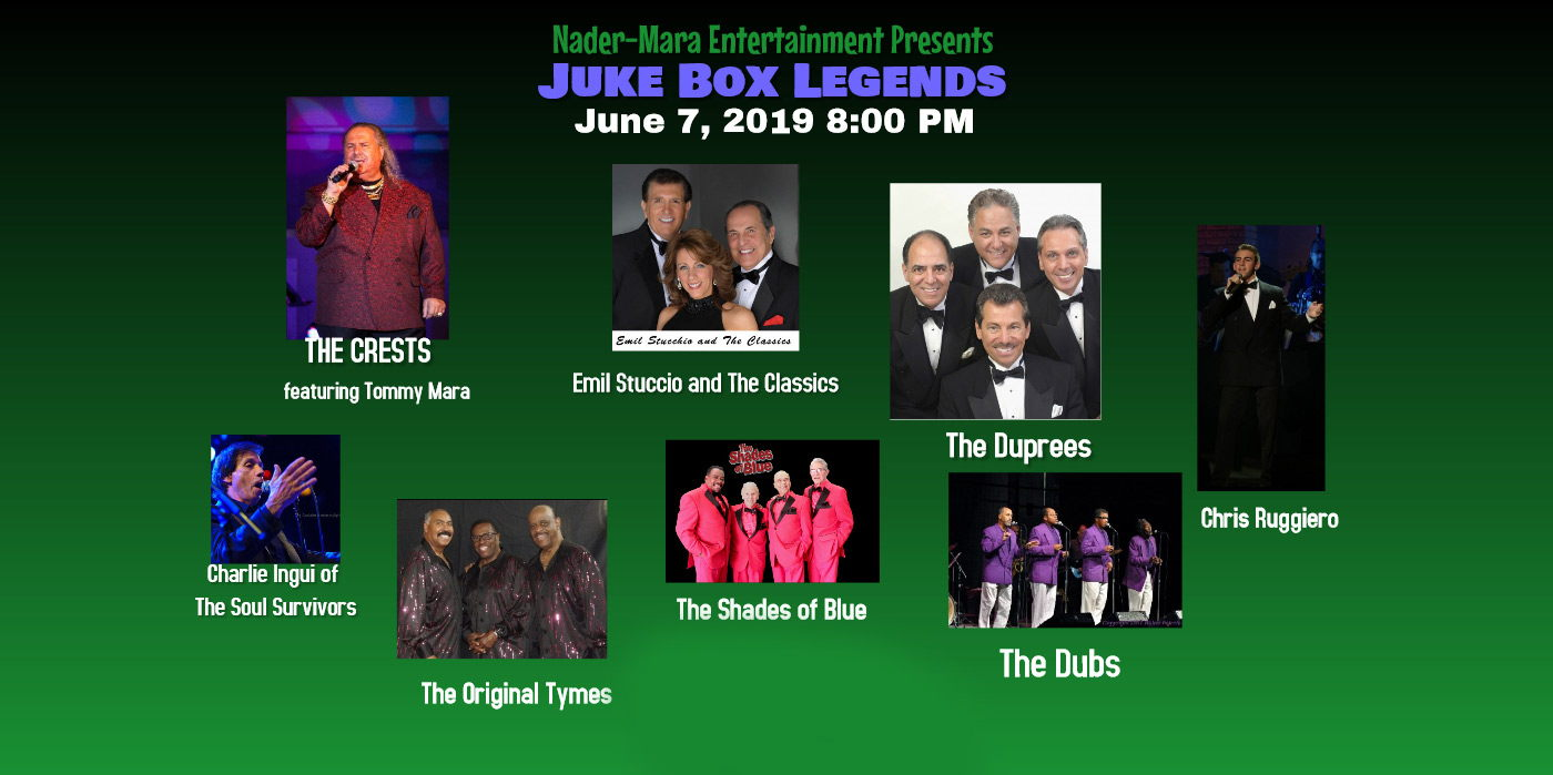 Juke Box Legends at the Shubert Theatre