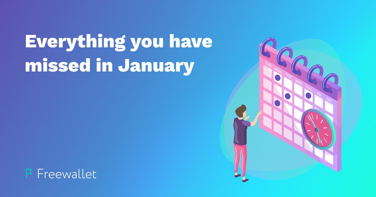 January Crypto Review