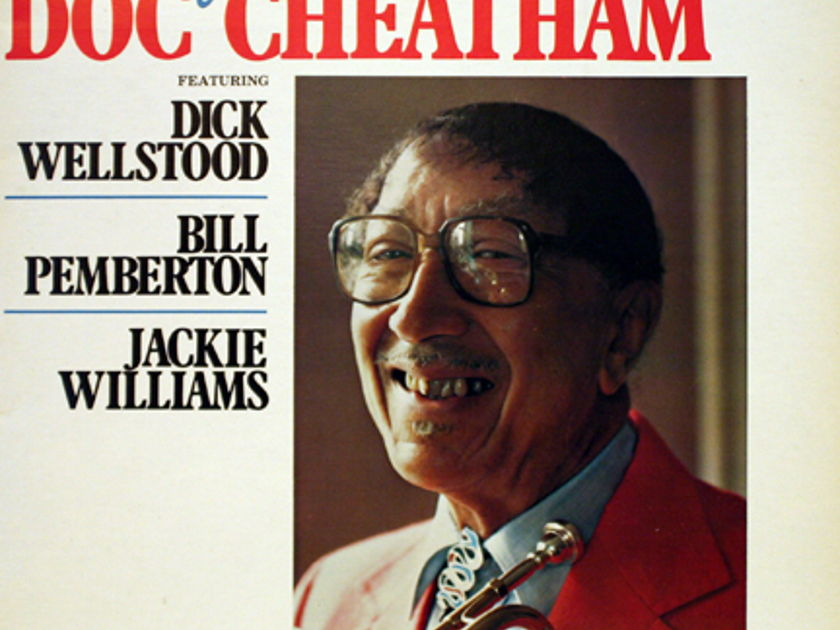 Doc Cheatham - The Fabulous Doc Cheatham featuring Dick Wellstood, Bill Pemberton, Jackie Williams.
