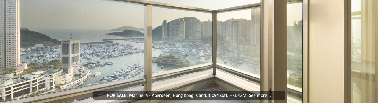 Hong Kong - Marinella - Balcony