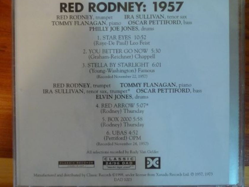 Red Rodney - 1957 Classic Records 24/96 DVD-A