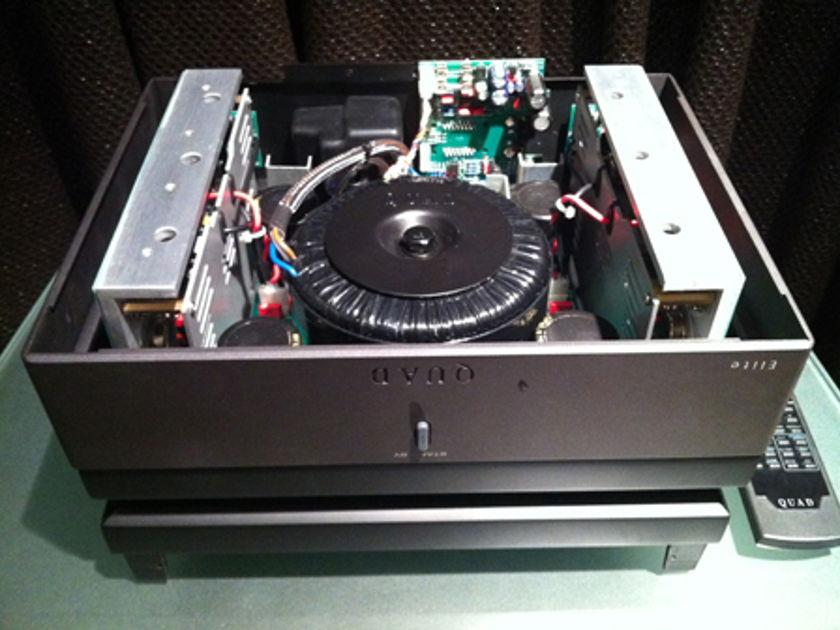 Quad QSP Amplifier Black