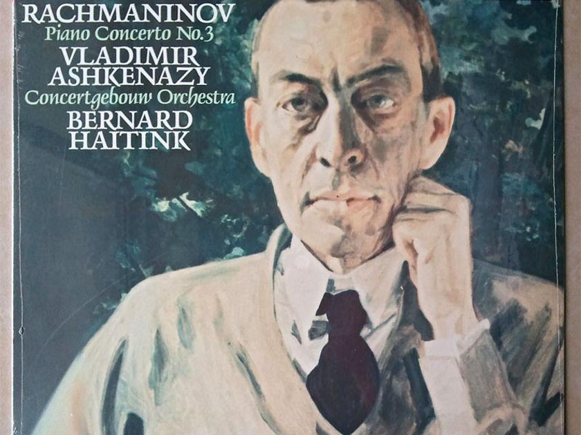 SEALED London Digital   ASHKENAZY/RACHMANINOFF - Piano Concerto No. 3