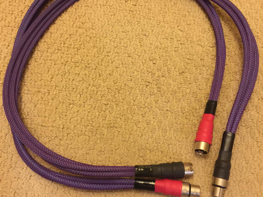 The Chord Company  Indigo 1m XLR/balanced  great Cardas Clear alternative