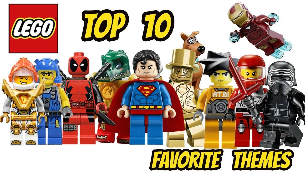 top 1 lego themes