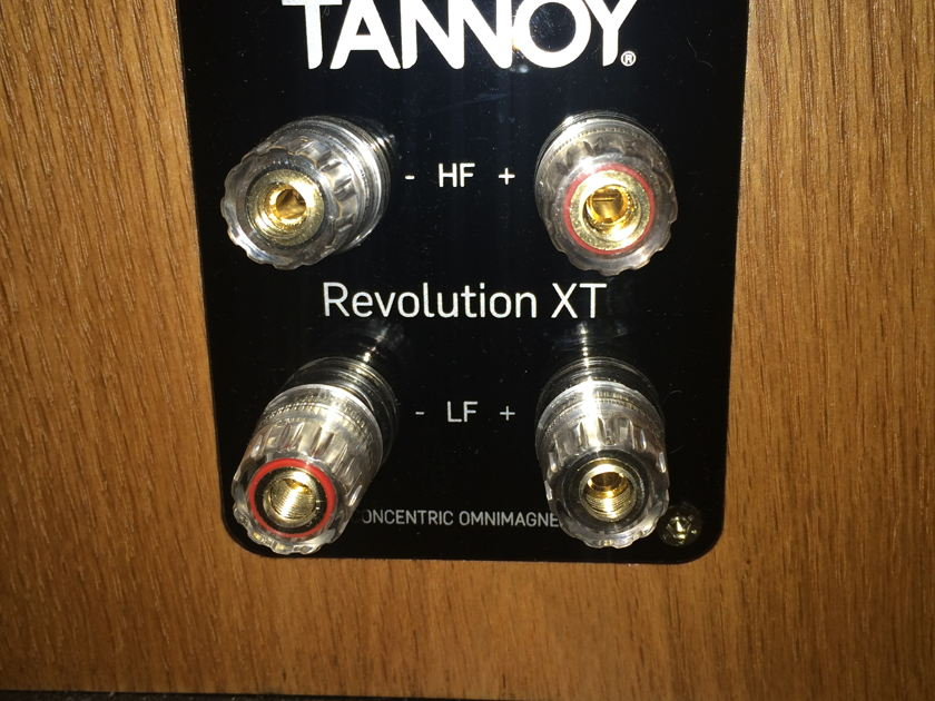 Tannoy Revolution XT 8F Loud Speaker Medium Walnut
