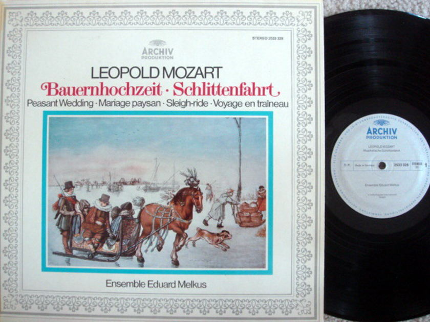 Archiv / MELKUS ENSEMBLE, - L. Mozart Peasant Wedding,  MINT!