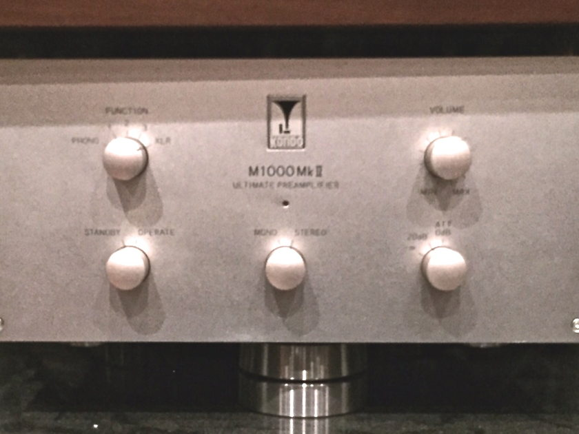 Kondo AudioNote Japan M1000 mk II Cost no Object Pre !
