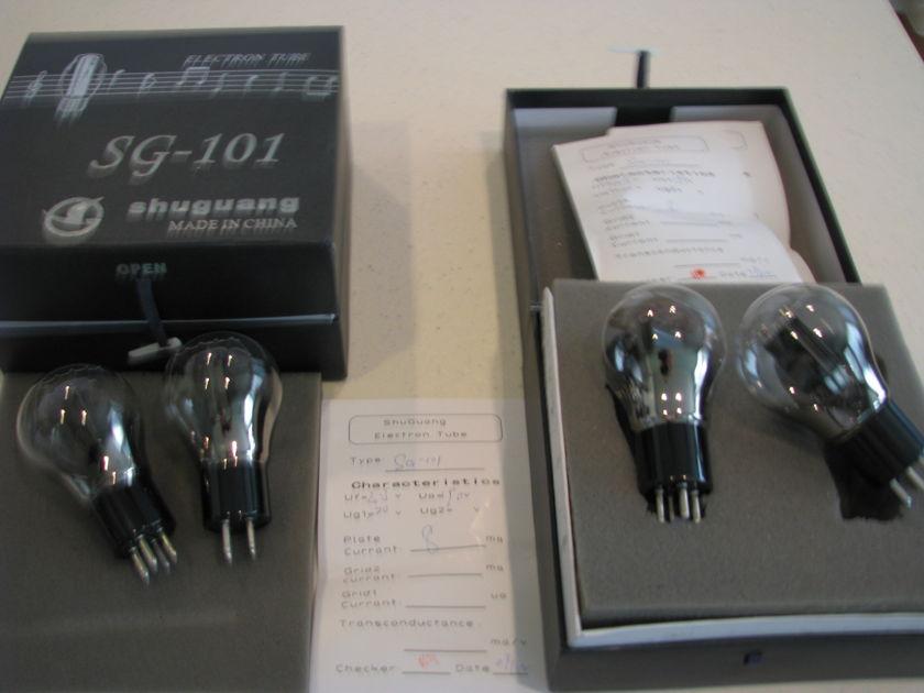 Shuguang SG-101 101D preamp tube