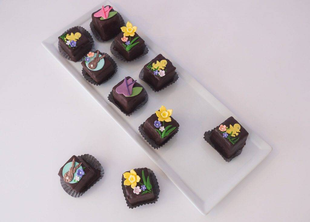Easter-inspired mini desserts from House of Clarendon in Lancaster, PA