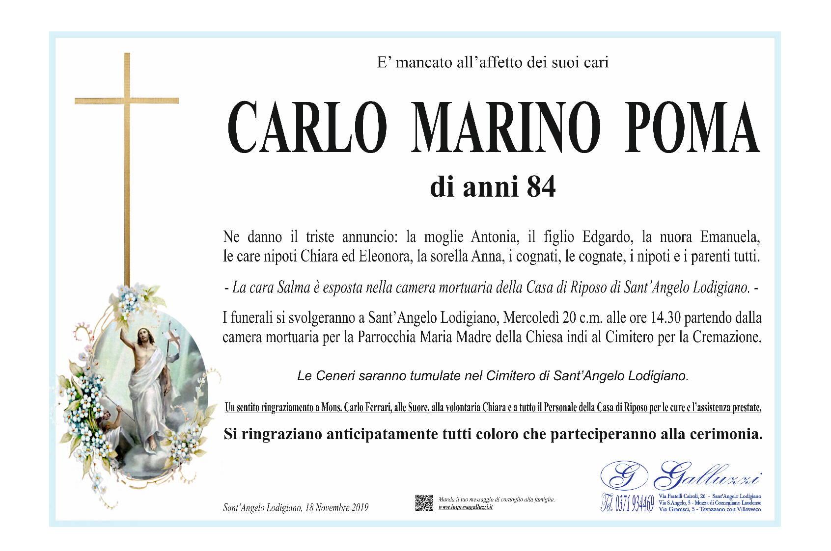 Carlo Marino Poma