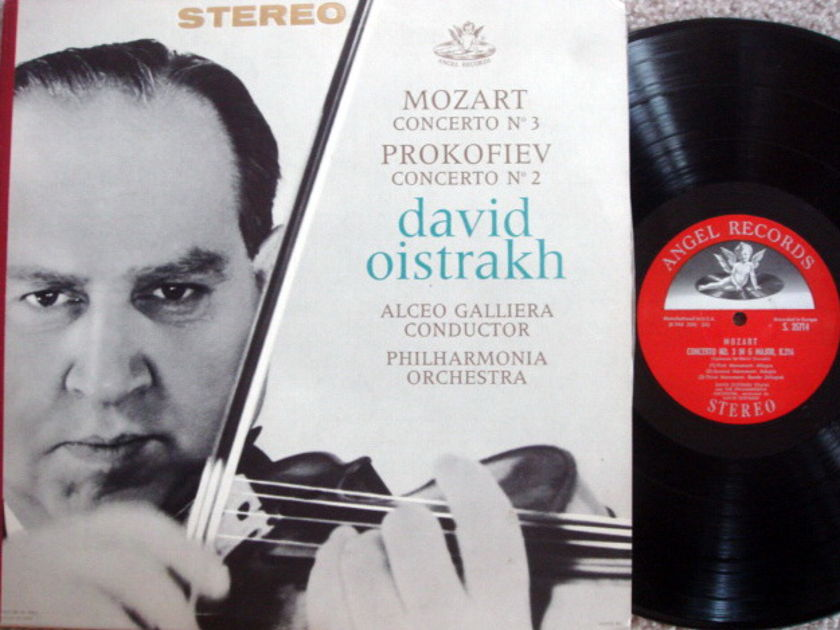 EMI Angel Semi-Circle / OISTRAKH, - Mozart Violin Concerto No.3, NM!