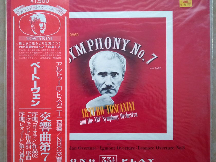 Sealed RCA Japan | TOSCANINI/BEETHOVEN - Symphony No. 7 & Overtures
