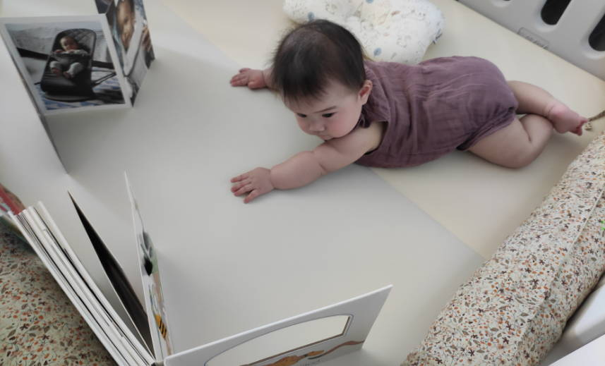 Activity ideas to make tummy time more interesting for babies