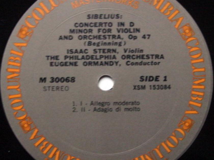 Columbia / STERN-ORMANDY, - Sibelius Violin Concerto, NM-!