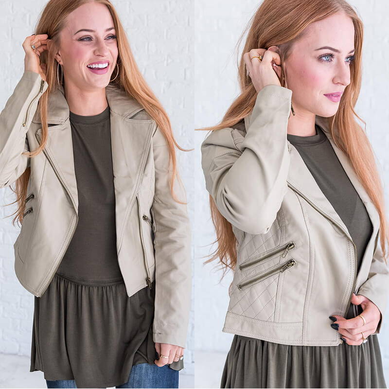 leather jacket for women from bella ella boutique