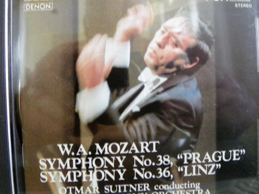 OTMAR SUITNER - W.A.MOZART SYM. NO.38,36 DENON PCM CD