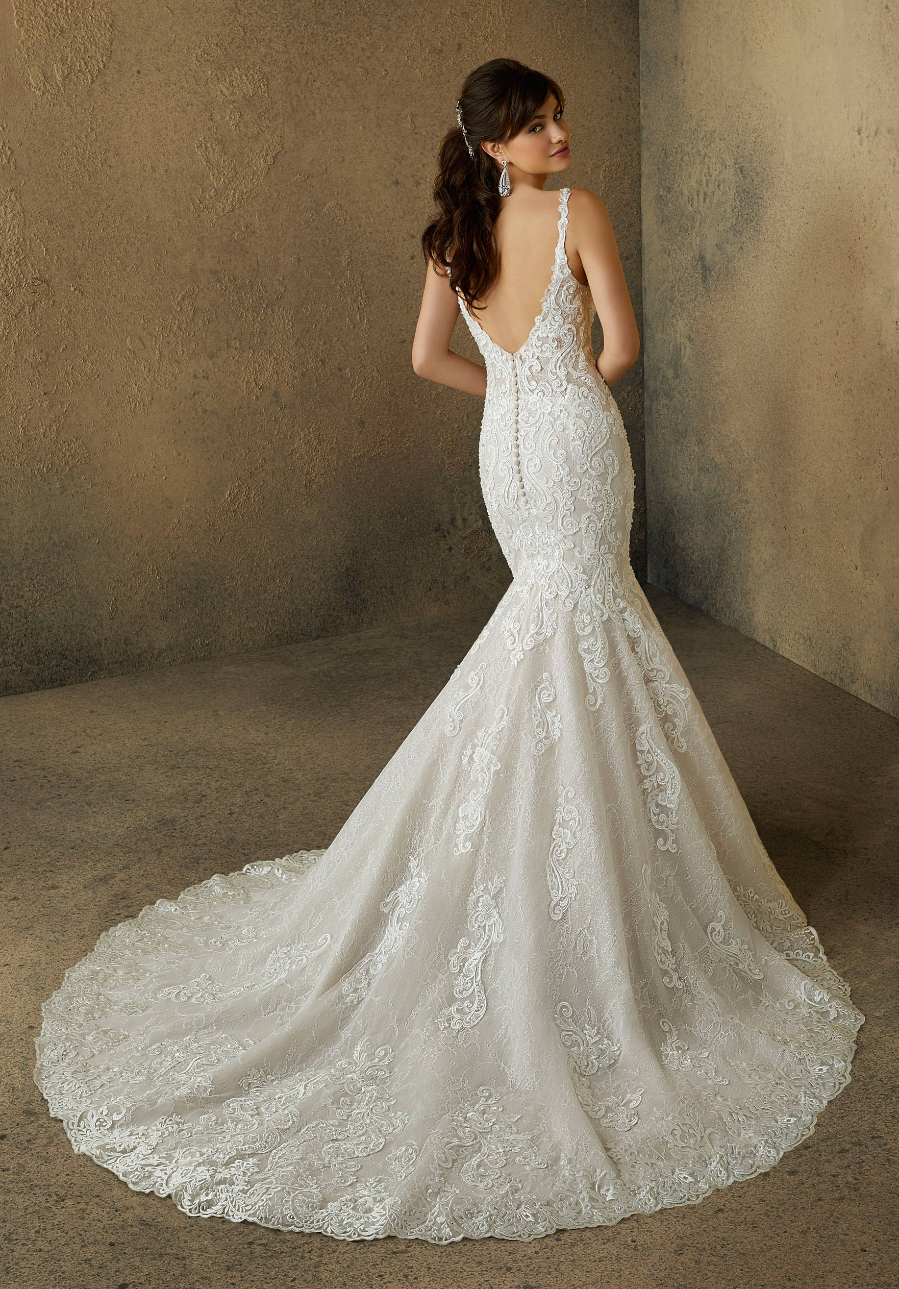 MORI LEE  WEDDING DRESS
