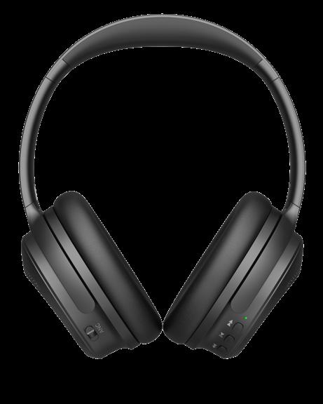 back view ausounds AU-XT ANC headphones