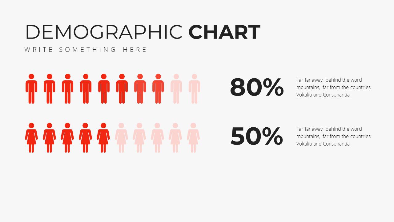 Minimal X Presentation Template Business Plan Demographic