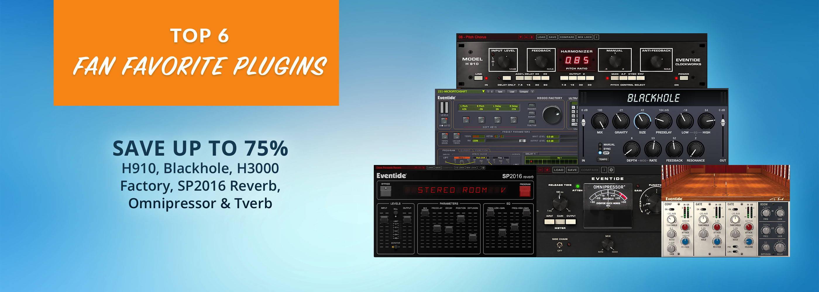 Fan-Favorites-Sale-Blackole-H3000-Omnipressor-Reverb-Tverb-SP2016