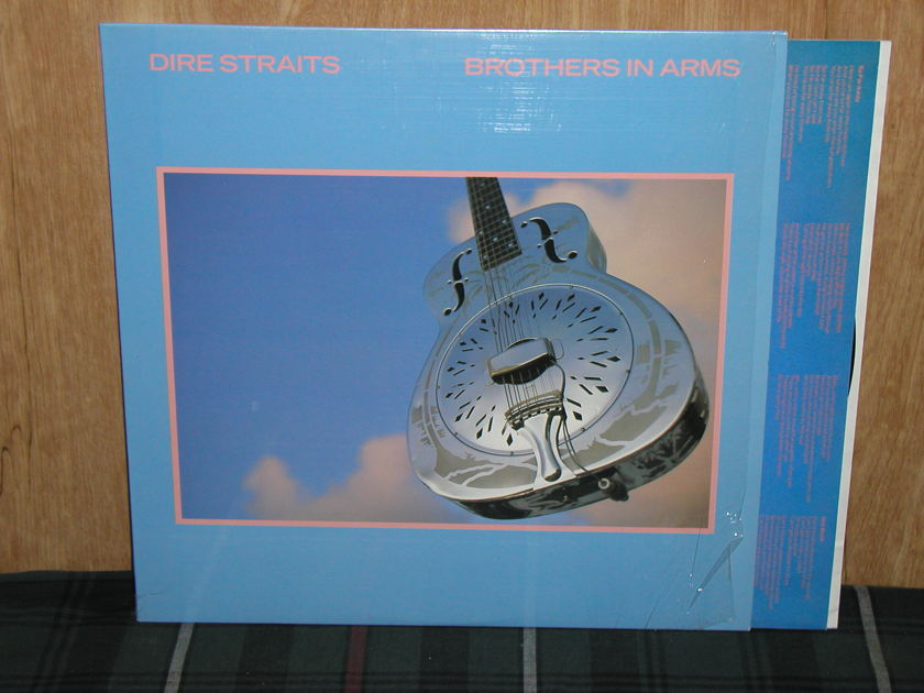 Dire Straits - Brothers In Arms Still in Shrink NM+ copy