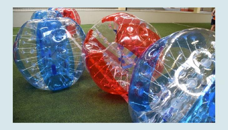 nbg bubble soccer bubbles