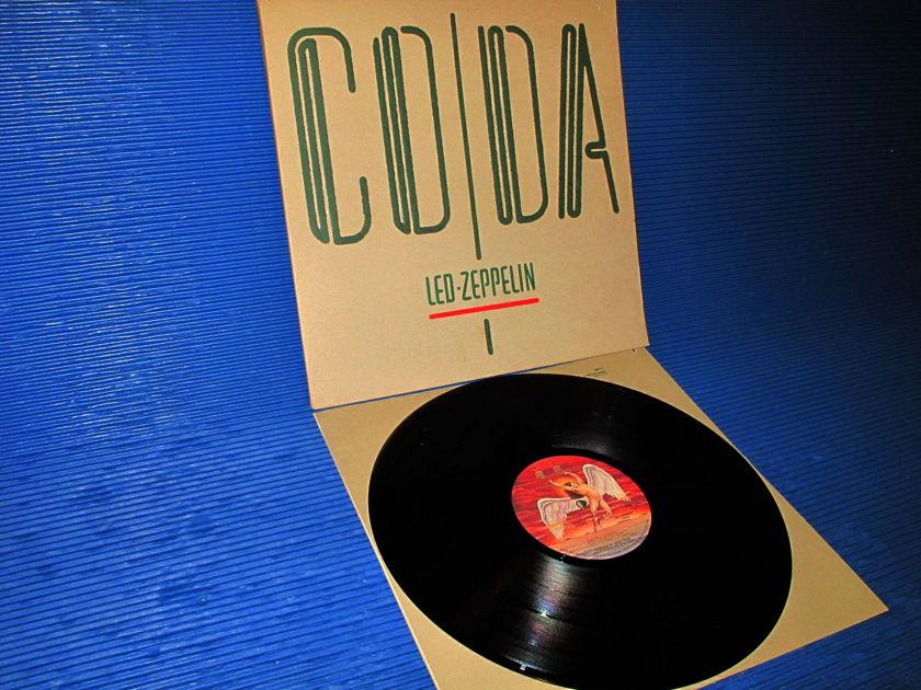 "LED ZEPPELIN -  - ""Coda"" -  Swan Song 1982 early pressing"